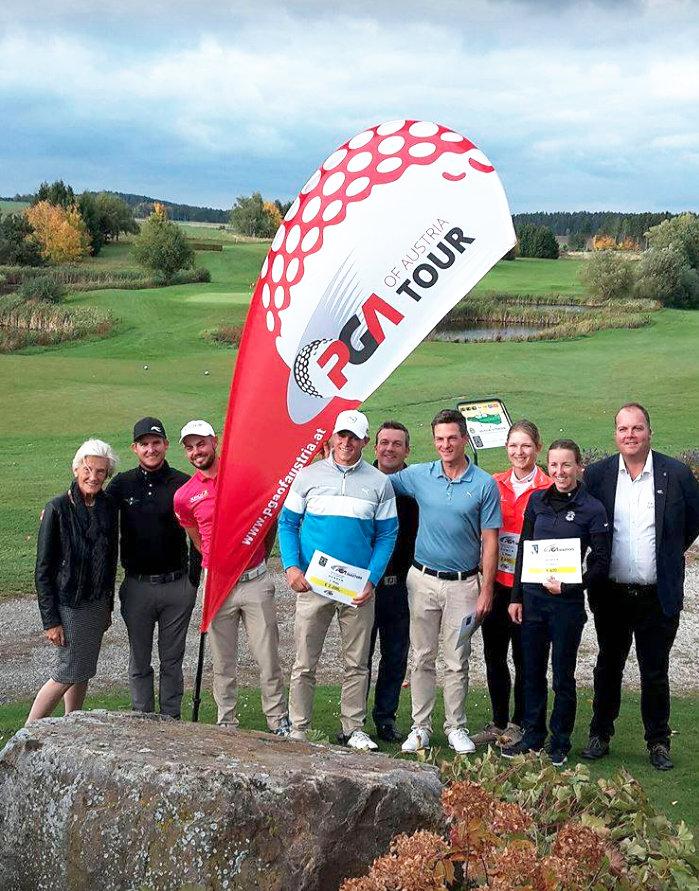 Sieger der PGA of Austria - MASTERS 2017